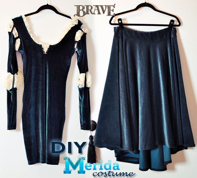Diy Princess Merida Costume From Disney S Brave Love Maegan Merida Costume Brave Costume Halloween Outfits