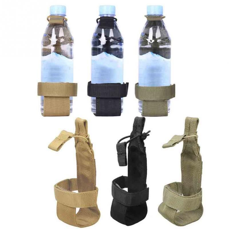 HIKING WALKING CAMPING WATER BOTTLE DRINK HOLDER HOOK OUTDOOR BELT BUCKLE CLIP