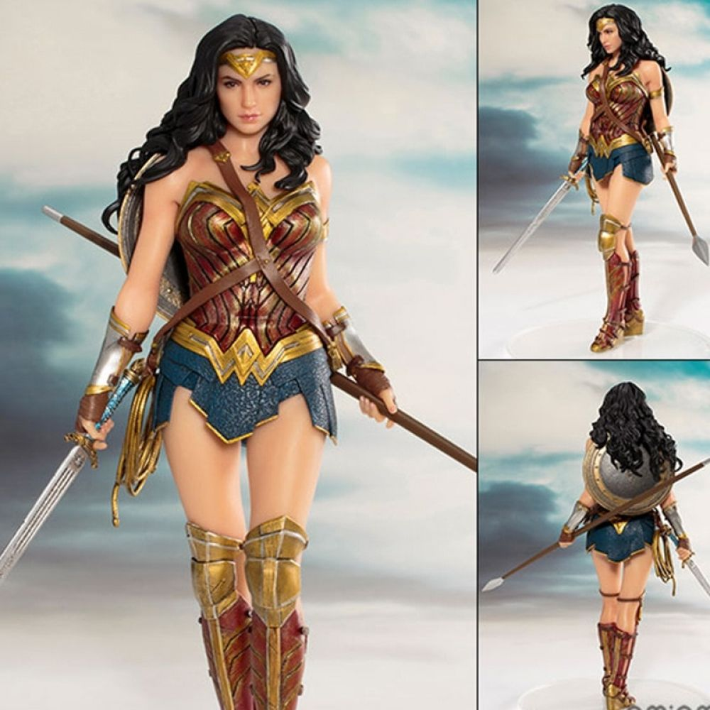 Wonder Woman And Justice League Hero Figure 19cm Superhero Toys Action Figures At Must Have Toy Store Justice League Wonder Woman Wonder Woman Statue Wonder Woman Movie