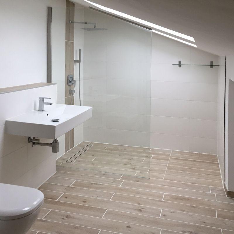 Dusche In Dachschräge walk in dusche unter dachschräge d01260 k diy und selbermachen