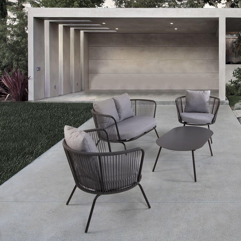 Chesterton 4 Piece Conversation Set Garden Furniture Sets Patio Furniture Sets Furniture Patio conversation sets under 500