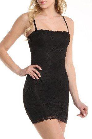 411817d18de2a Black Fuchsia Shapewear - Women s Body Shaper Lace Dress Black Fuchsia.   19.50