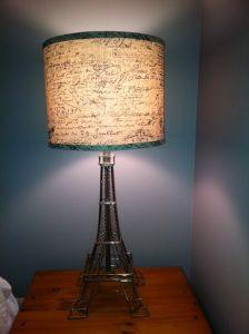 Eiffel Tower Lamp Restoration Hardware Knock Off!