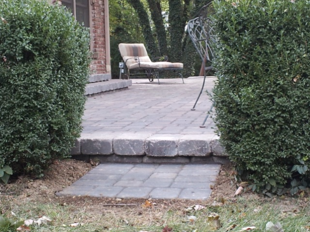 Beautiful Paver Patio. Landscaping Ideas