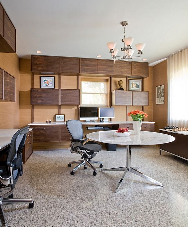 Office Workspace Awesome Luxury Home Offices Ideas Modern Luxury Home Office Int Office Interior Design Modern Modern Office Interiors Basement Home Office