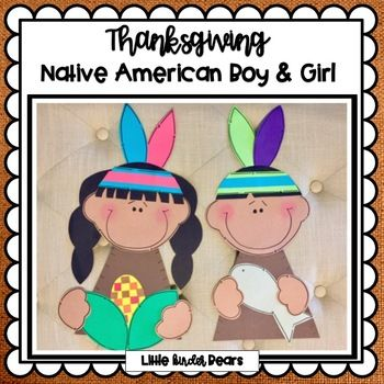 Native American Kids Thanksgiving Craft and Writing