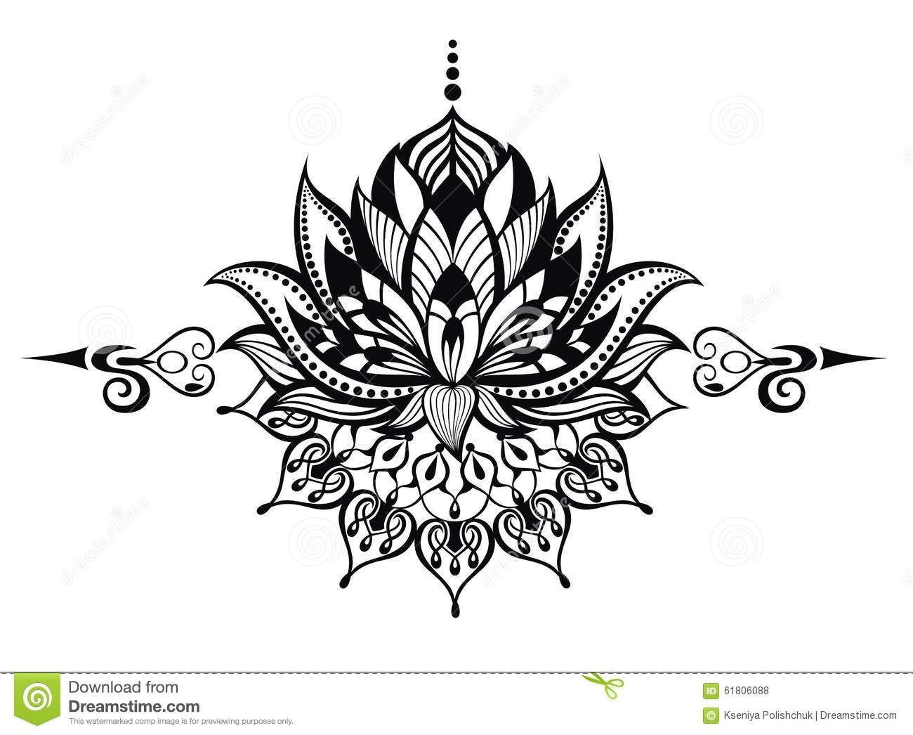 Lotus Flower.Tattoo Download From Over 46 Million High