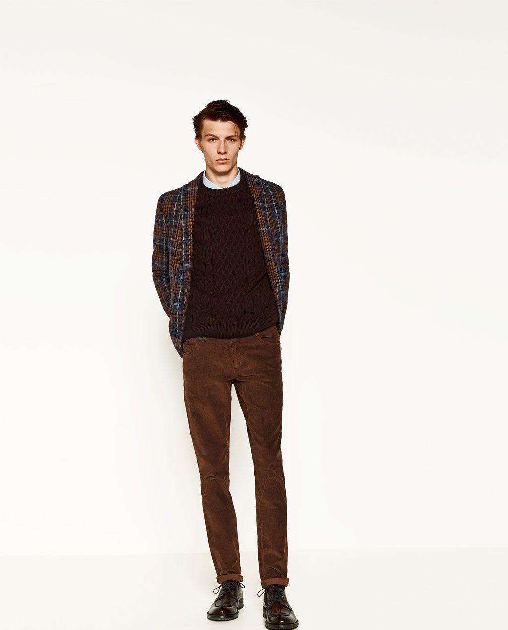 Imagen 1 De Pantalon Pana De Zara Formal Boys Outfit Formal Boys Corduroy