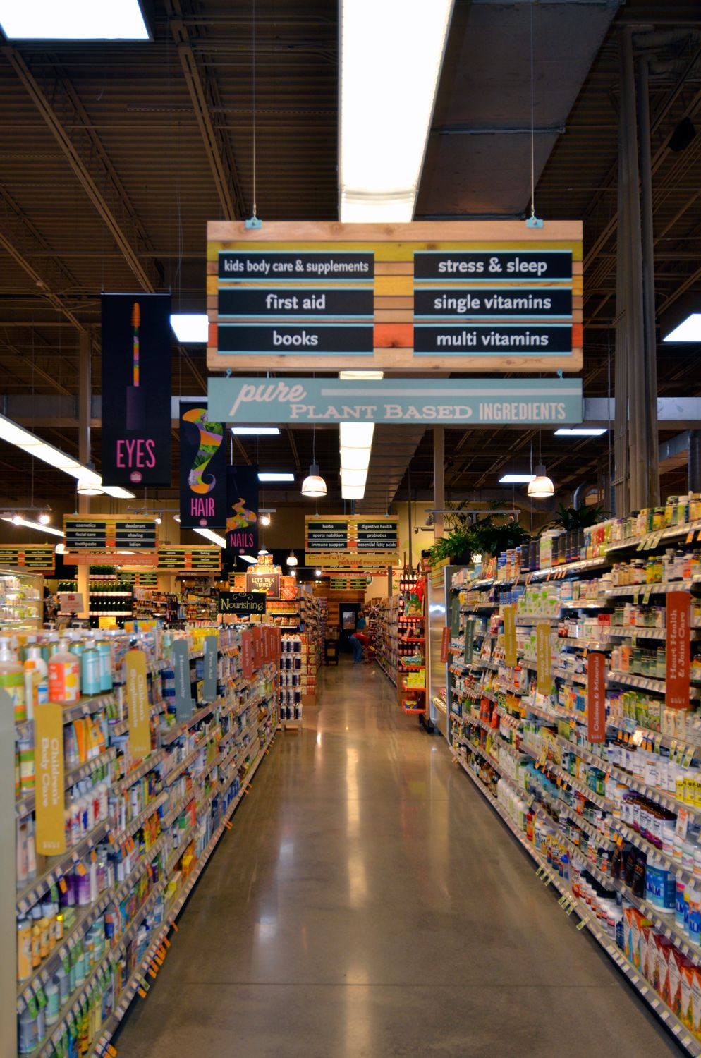 Grocery Store Aisle Signs