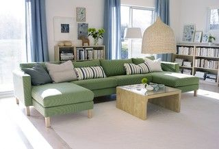 Sectional Sofa Karlstad From Ikea Houzz Living Room Furniture