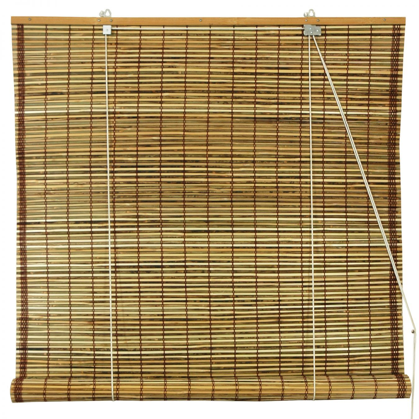 Burnt Bamboo Roll Up Blinds Tortoise Woven Wood Blind Outdoor Blinds Wood Blinds