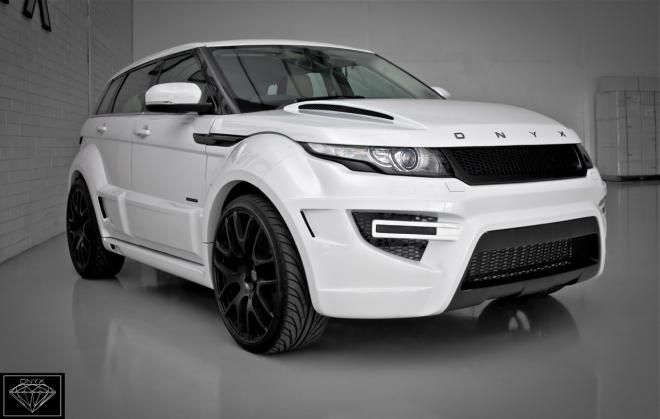 Onyx Concept Shows Rogue Edition Based On Rangerover Evoque Range Rover Evoque Range Rover Suv