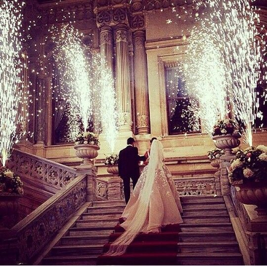 Wedding Grand Entrance Fireworks Ideas