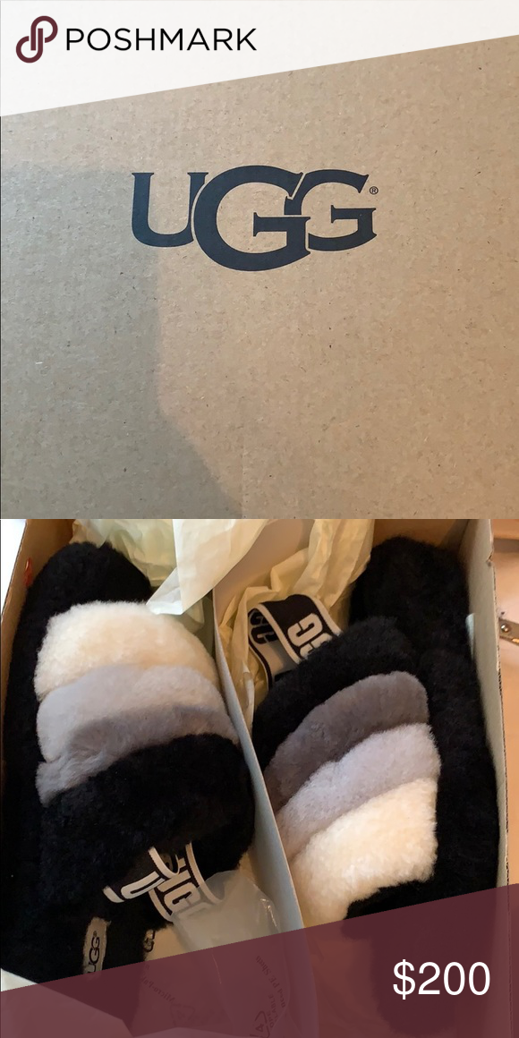 79c0e48d8d3 Multi color UGG slippers New, have not worn at all. UGG Shoes ...