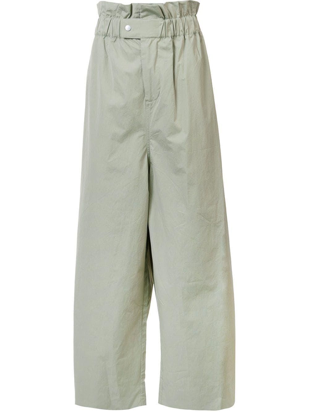 Draped Elastic Waistband Trousers Craig Green Trousers Women Wear