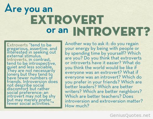 introvert vs extrovert in hindi