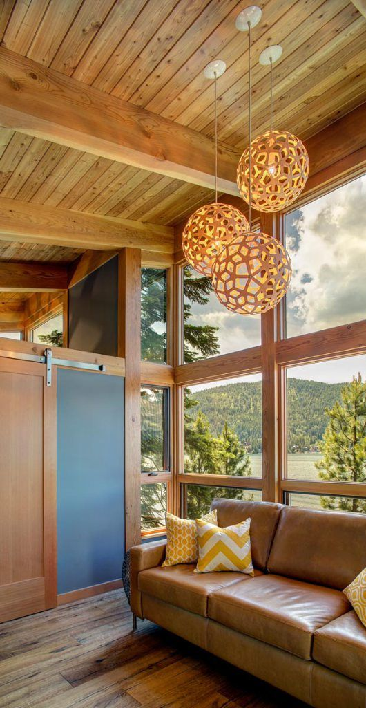 Compact Hybrid Timber Frame Home Design Photos Timber Home Living: Gallery: TimberCab, A Prefab Timber Framed Cabin
