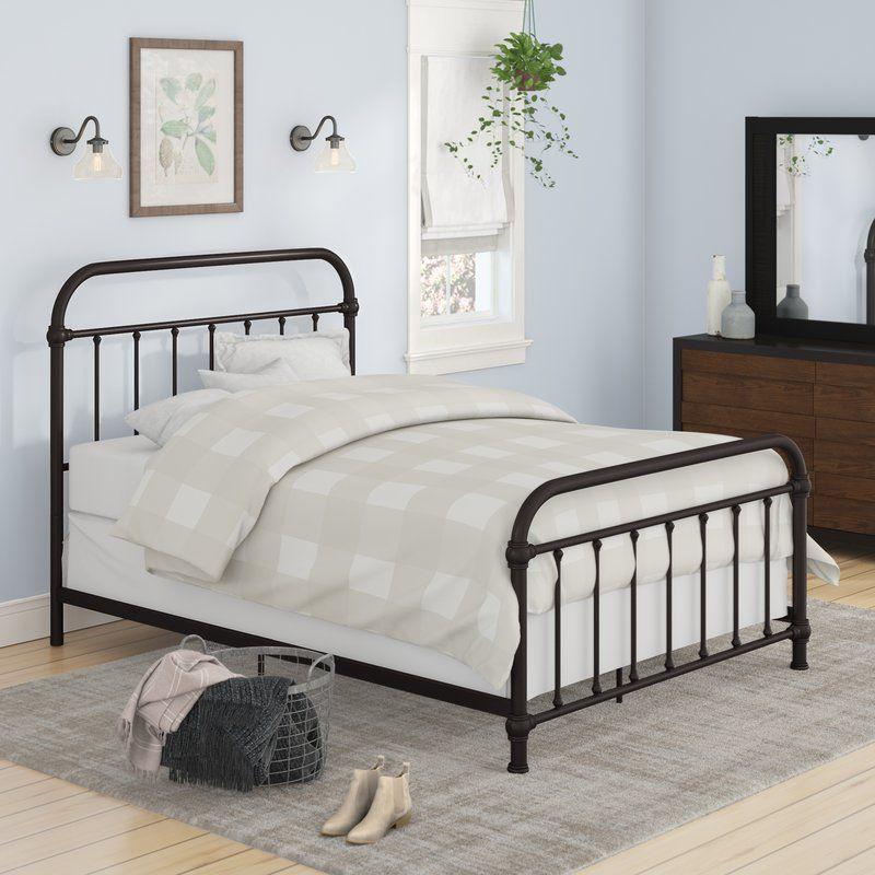 Furniture Bedroom Decor Upholstered, Harlow Panel Bed Queen