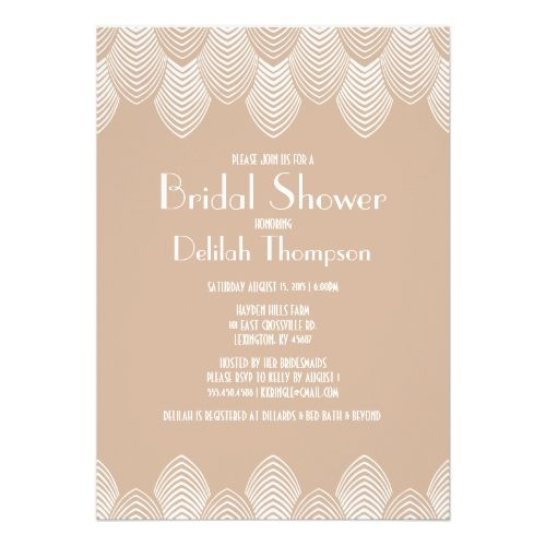 Vintage 20s art deco bridal shower invitation geometric wedding vintage 20s art deco bridal shower invitation filmwisefo