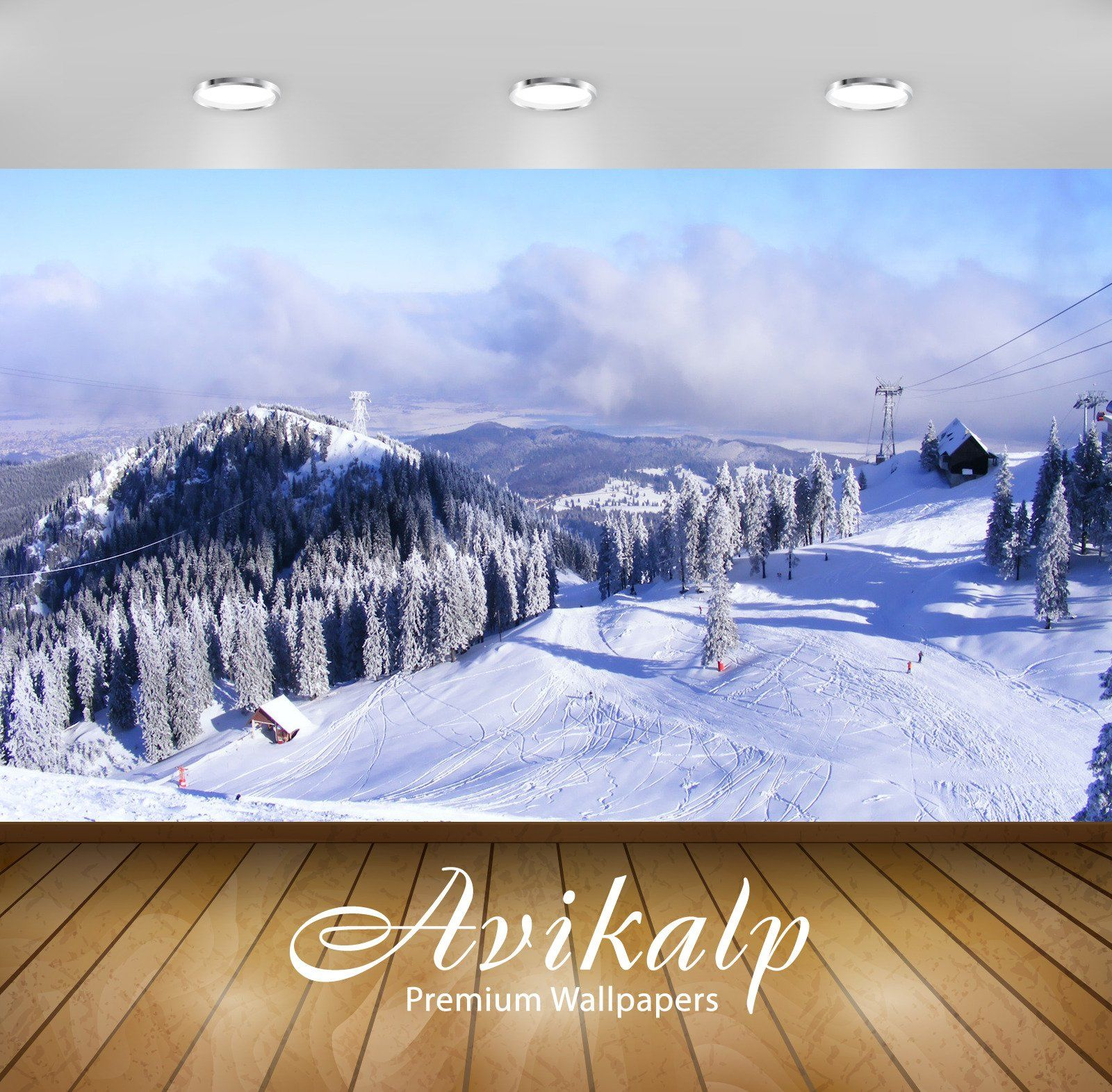 Avikalp Exclusive Awi6195 Ski Slope Nature Full Hd Wallpapers For