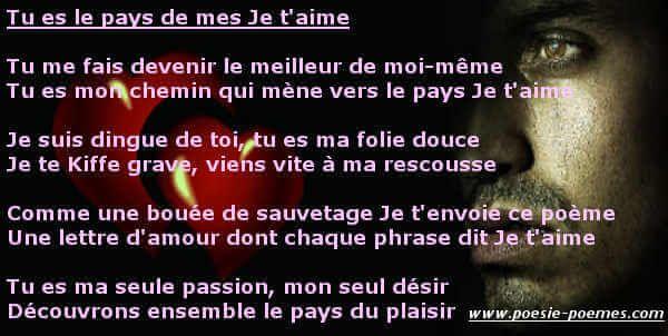 Lettre Damour Je Te Kiffe Trop Je Taime Grave Message Je