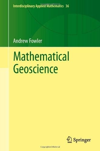 Mathematical Geoscience - Andrew Cadle Fowler
