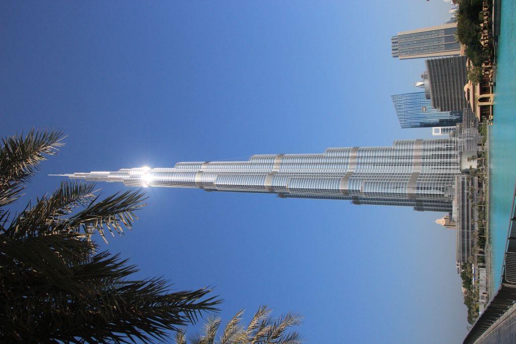 Currently holding the title of the tallest building in the world, Burj Khalifa, Dubai.