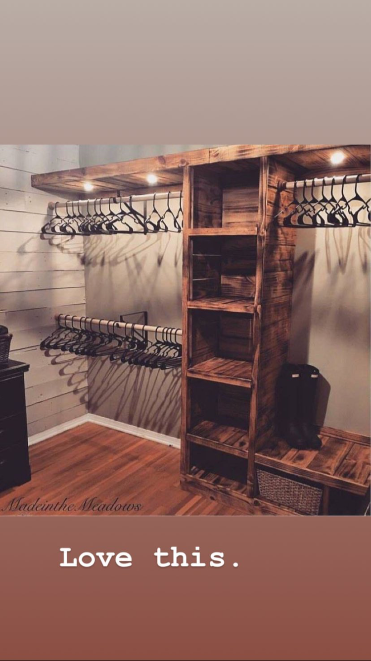 Pin By Courtney Fernandez Petty On Making A House A Home In 2020 Home Diy Closet Bedroom Home Decor