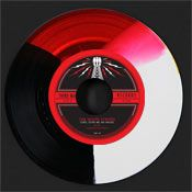 Tri-Color Vinyl  White Stripes Color
