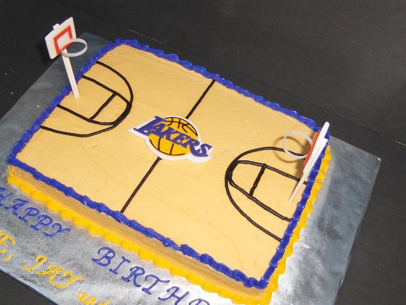 la lakers cakes bryant Happy Birthday CaGuy Cakes and Cupcakes