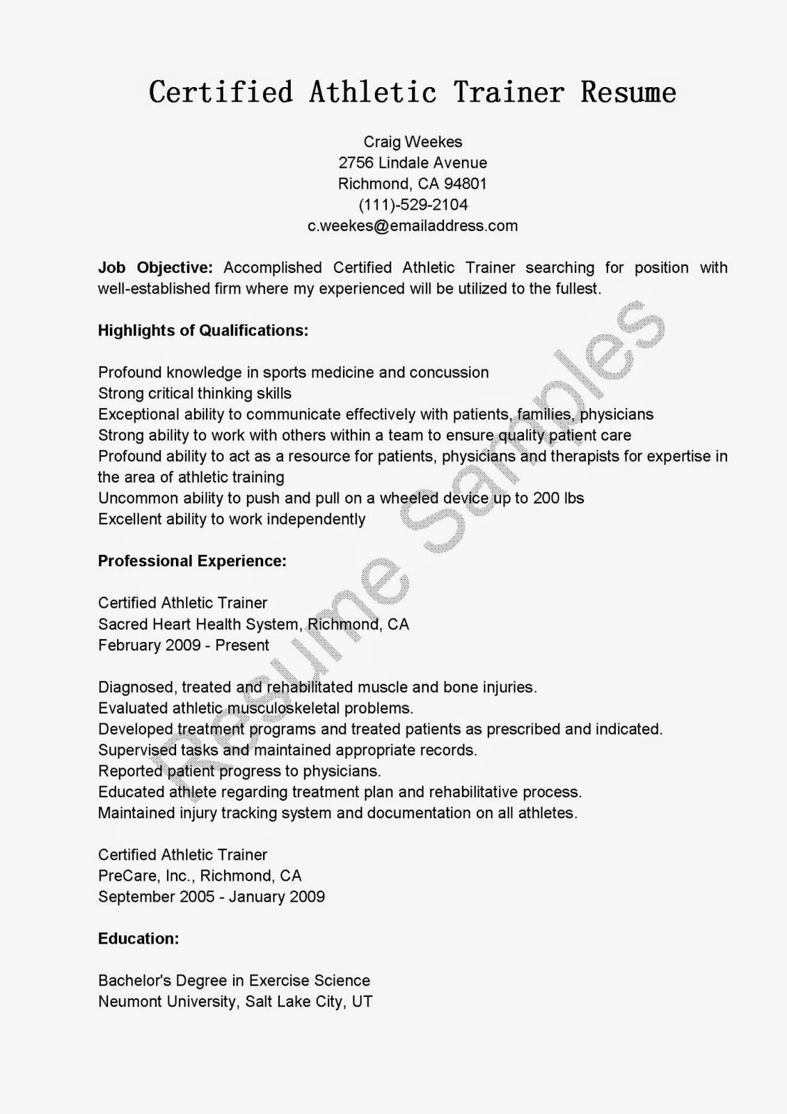 zumba instructor resume template group fitness software trainer cover letter hse coordinator child - Personal Trainer Resume Template