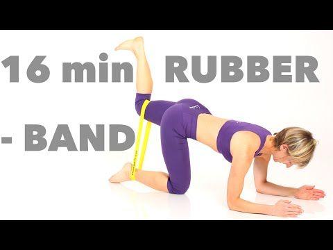 Rubberband Figur - Workout - YouTube #pilatesworkoutvideos