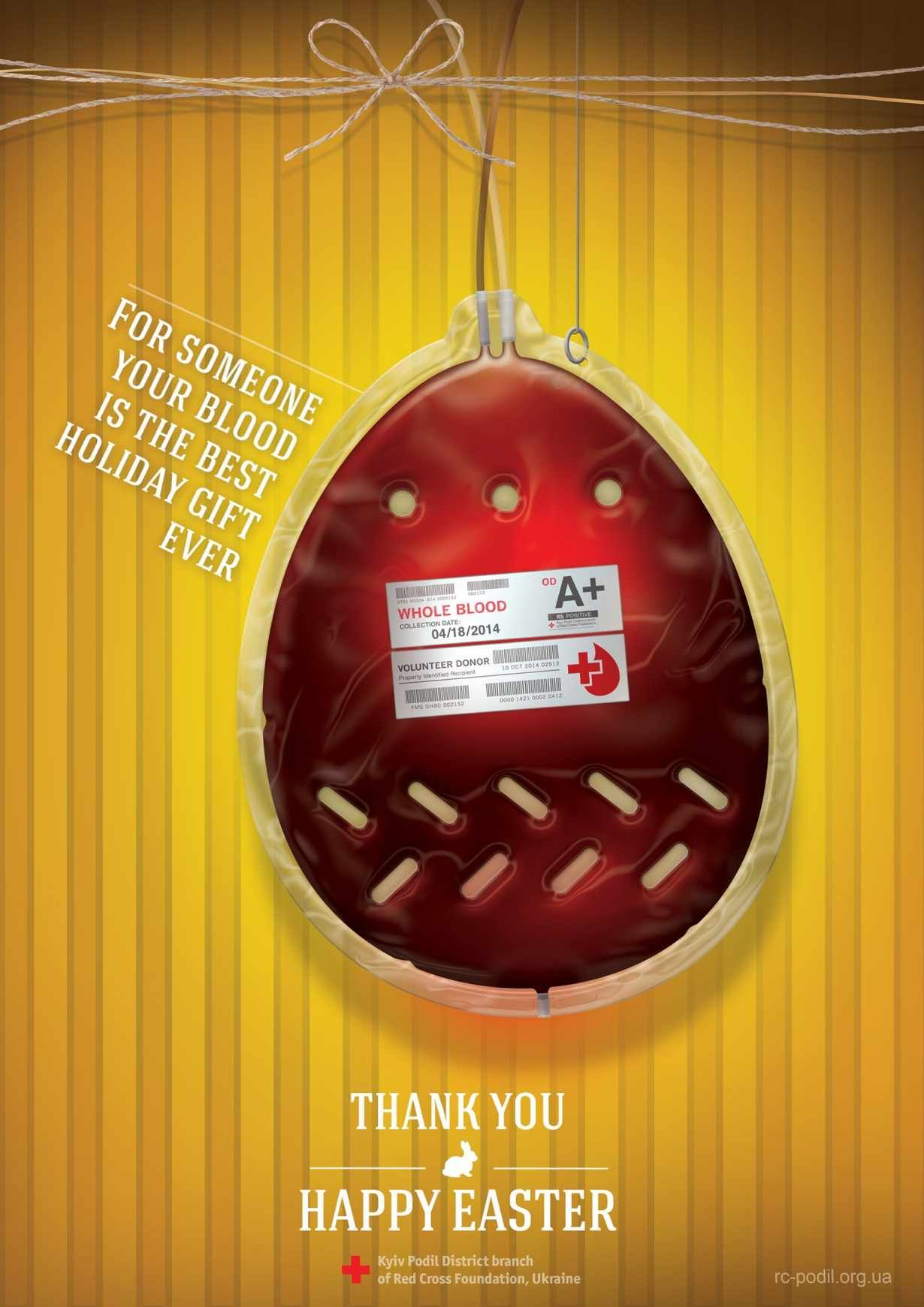 For someone your blood is the best holiday gift ever