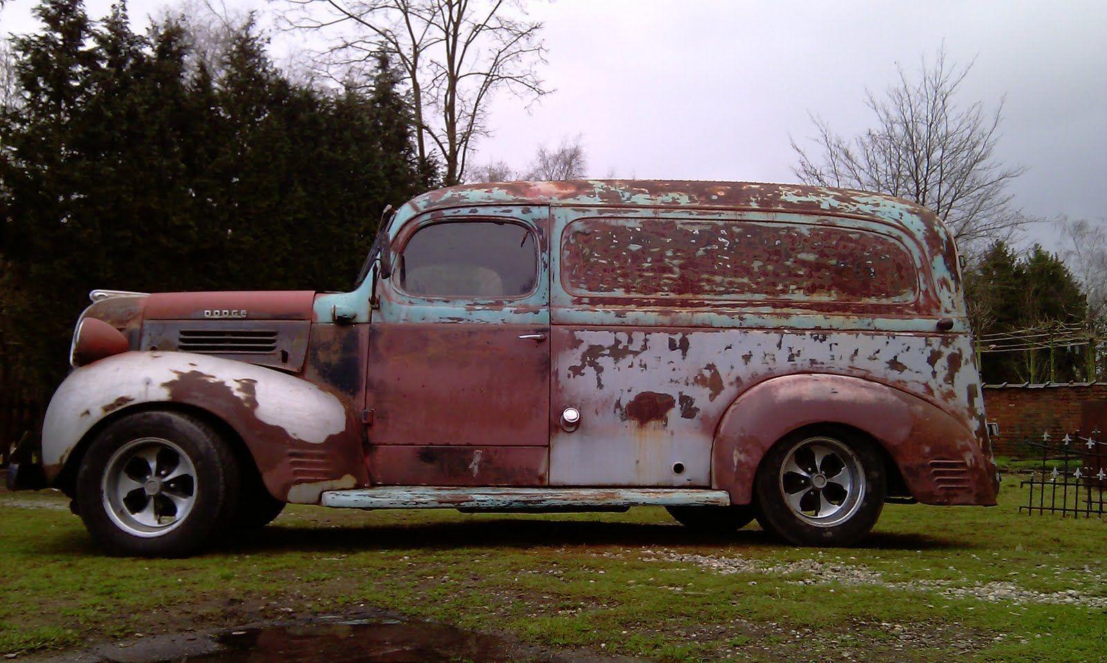 247 autoholic 1947 dodge delivery panel van