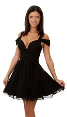 Little Black Dress 2017 Short Black Homecoming Dress Black Short