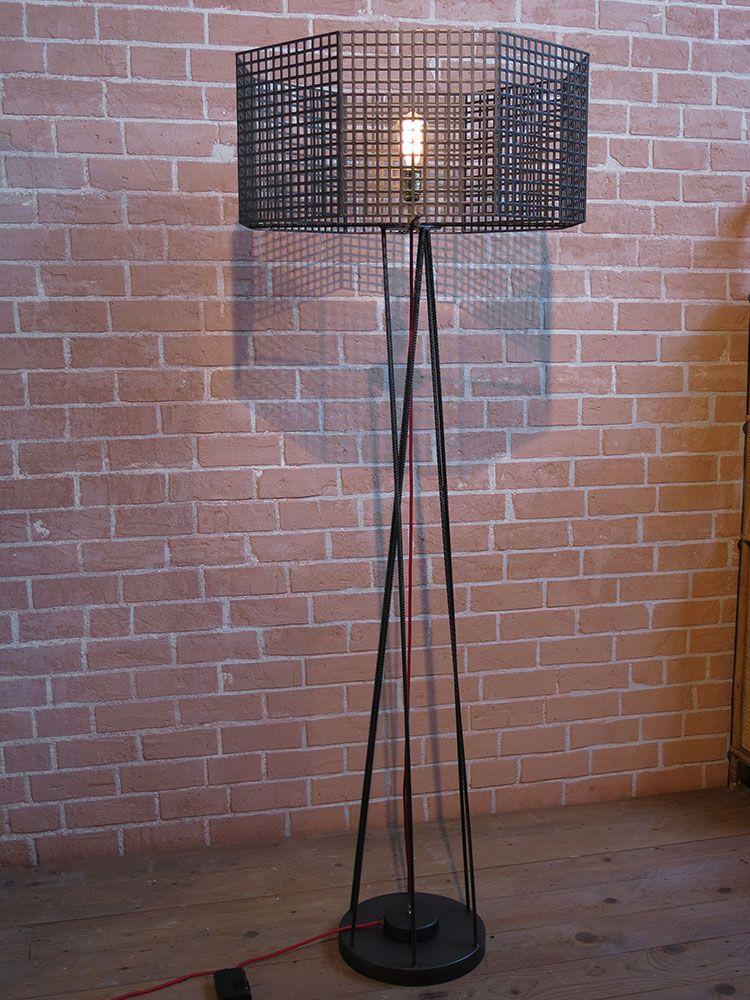 Lampe En Acier Lampe En Acier Lamp Objet Deco
