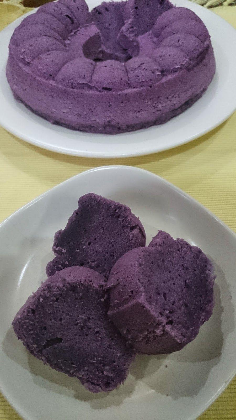 Rumah Makan Djowo Klaten Bolu Ubi Ungu Jepang Kukus Makanan Kue Lezat Makanan Manis