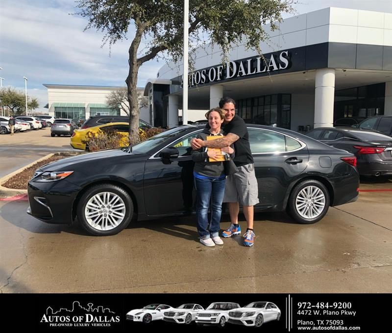 Happy Anniversary To Michelle On Your Lexus Es From Omay Bosch At Autos Of Dallas Anniversary Autosofdallas Car Dealership Lexus Auto