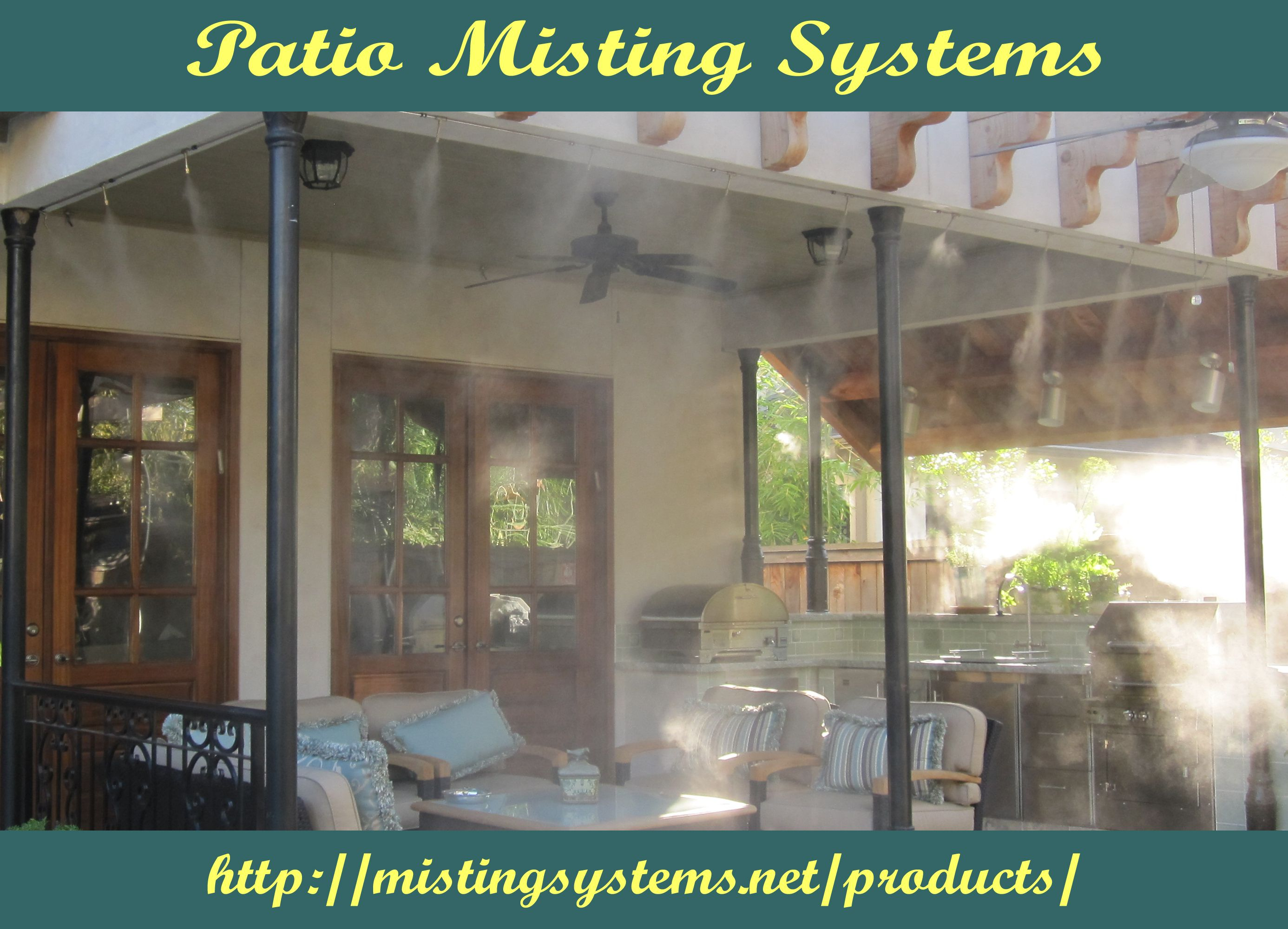 patio misting systems is the perfect choice for cooling down