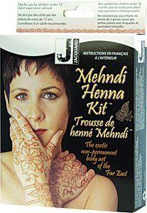 Customer Image Gallery for Jacquard Mehndi Henna Kit