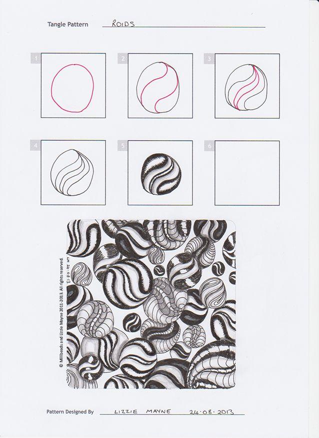 Zentangles Patterns Step By Step Zentangle Patterns Ste...