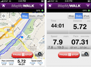 Start Exercising Outdoors With These Online Resources Fitness App - Map my walk online