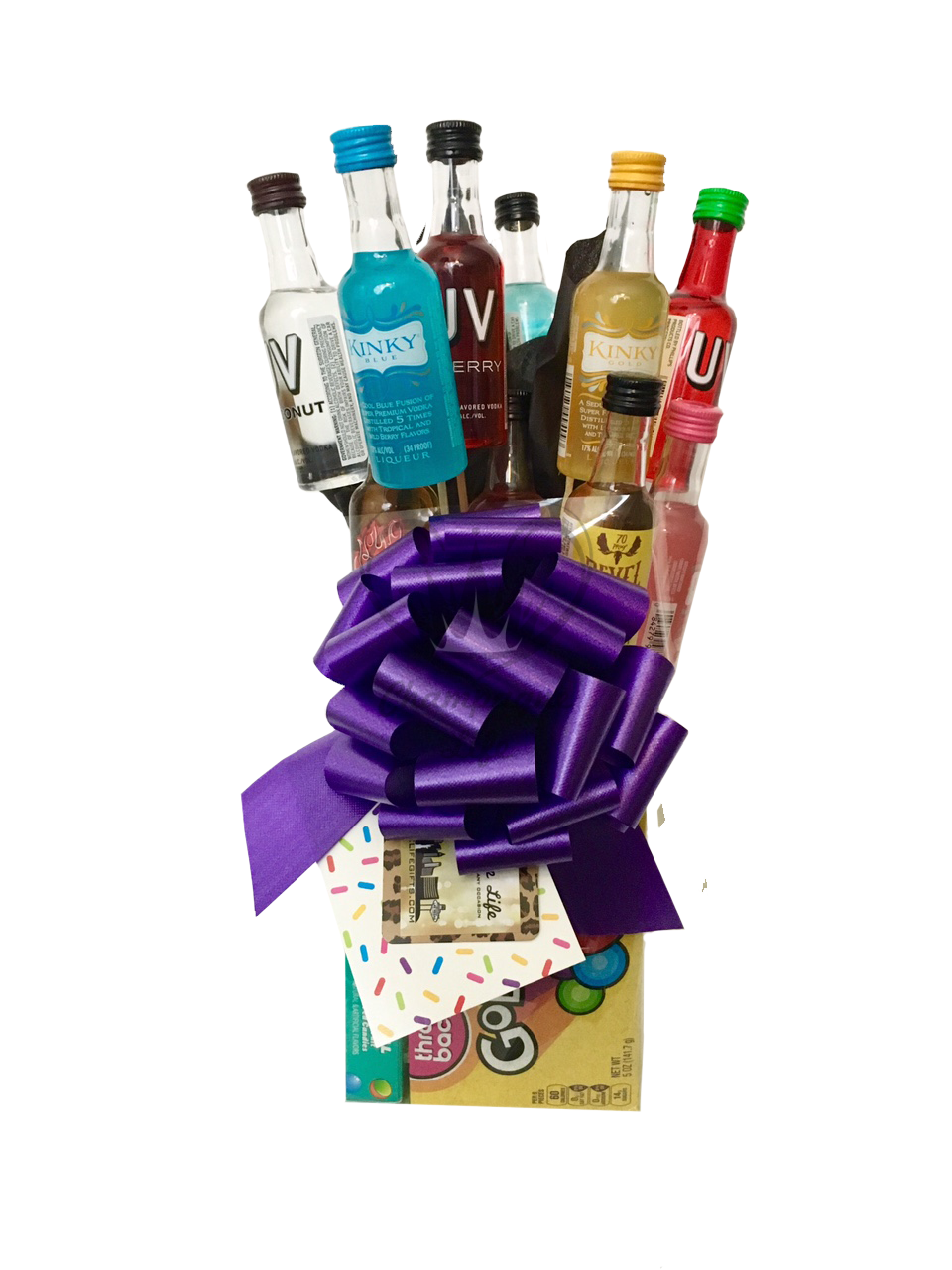 The Shots Bouquet Is Available For Same Day Delivery In Las Vegas NV Find Perfect Gift 21st Birthdays Or Bachelor And Bachelorette Parties At