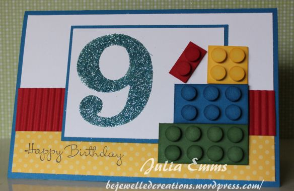 Ronan S 9th Birthday Lego Card With Images Old Birthday Cards