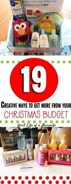 19 Creative Ways to get more from your Christmas Budget. #Christmas #ChristmasBudget #ChristmasDeals