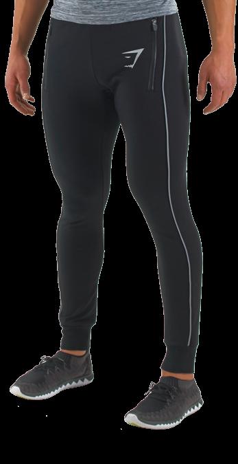 GymShark Fit Reflective Bottoms - Bottoms - Mens