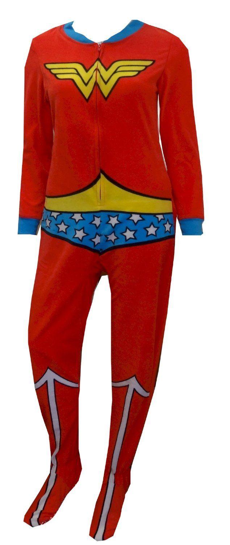 Amazoncom Dc Comics Wonder Woman Toison Onesie Footie-5866