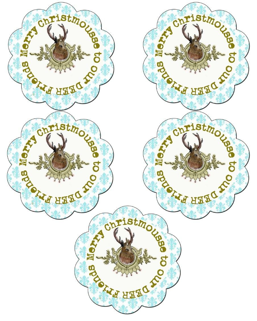 Merry Christ-mousse-to-our-deer-friends-scallop-tags-thetheesweetpeas