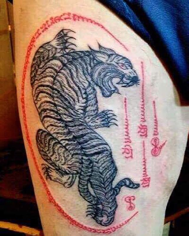 Henna Tattoo In Bangkok: Done Traditional Tattoo By Ajarn Tom(www.bt-tattoo.com