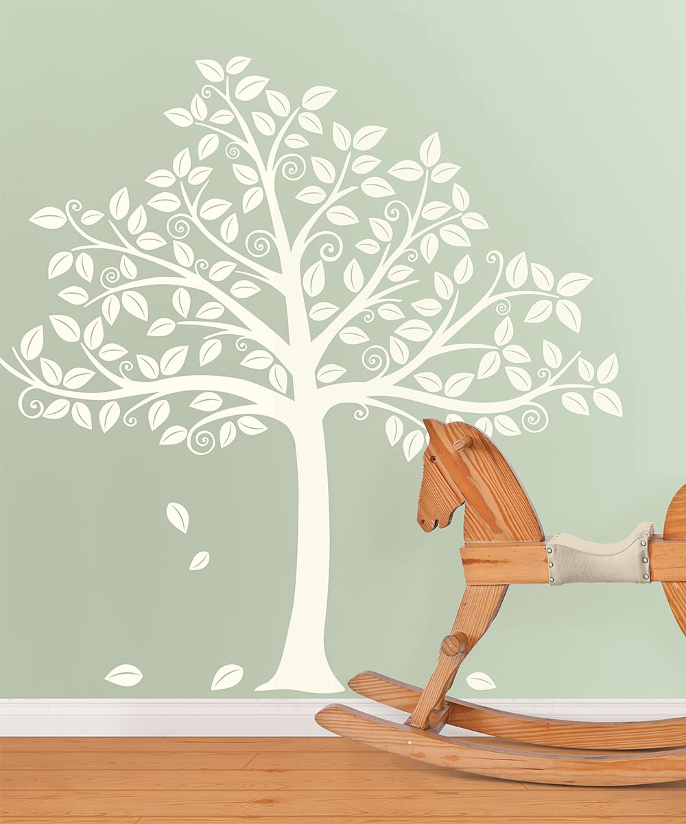 Tree silhouette decal art pinterest tree silhouette room and